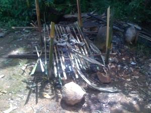 Alat yang dipakai untuk memanggang ikan